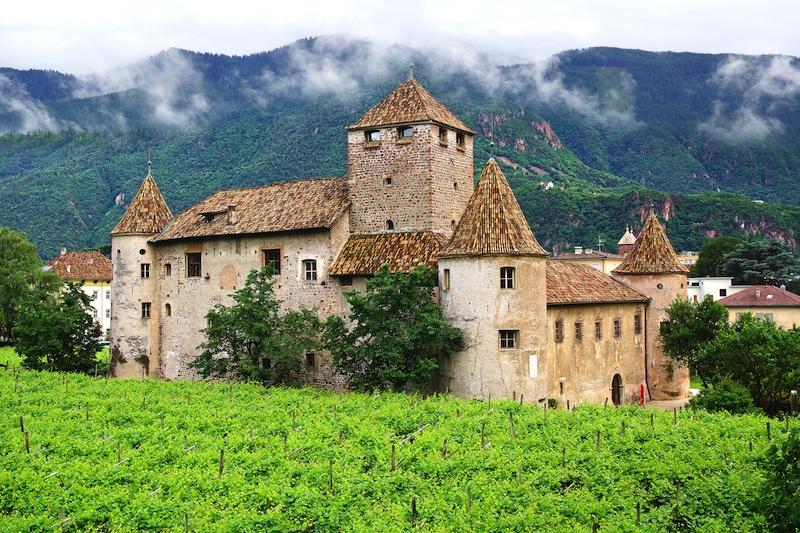 BOLZANO ITALY JUNE 30 Maretsch Castle