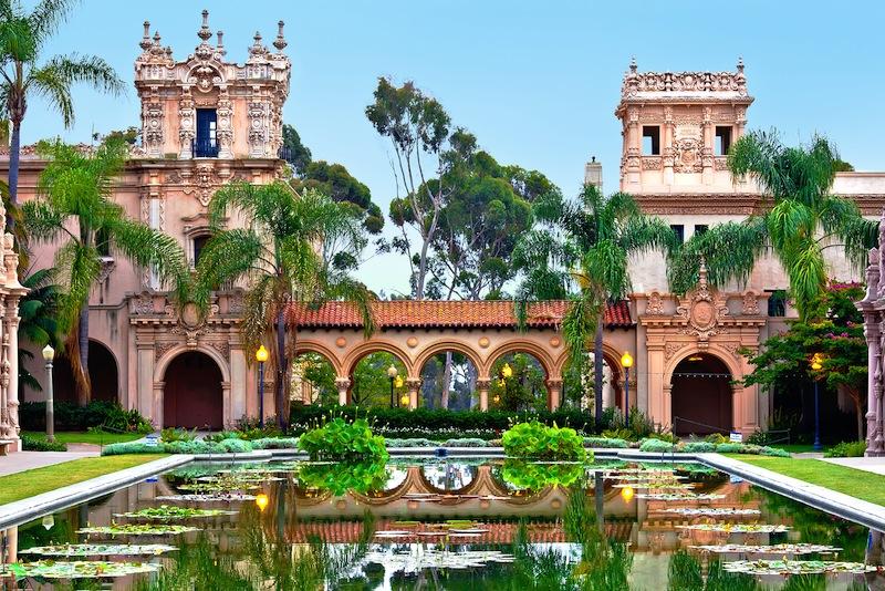 Balboa Parks Casa de Balboa Building in San Diego California jpg
