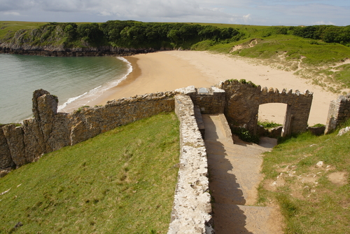 Barafundle Bay one of Pembrokeshire finest beaches