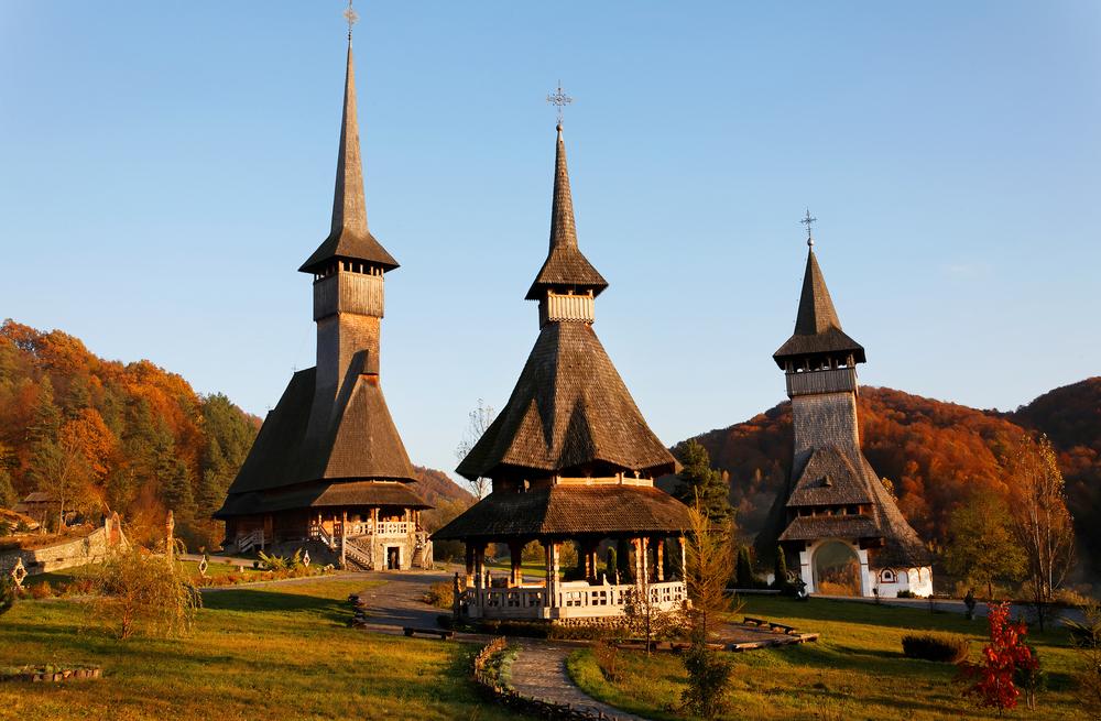 Barsana Wooden MonasteriesMaramur es Romania