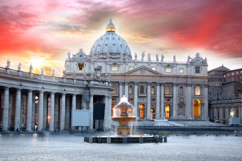 Basilica di San Pietro Vatican Rome Italy
