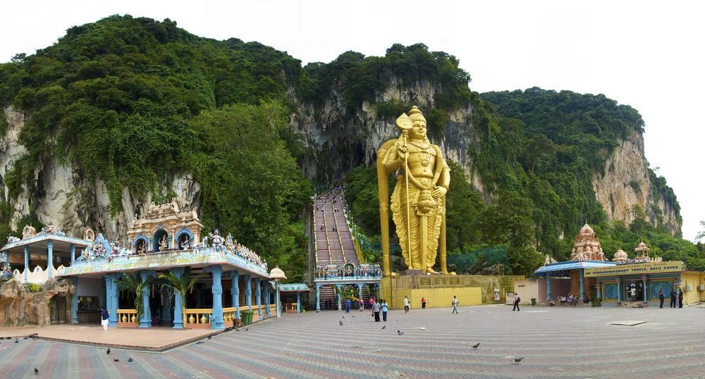 Batu caves temple kuala lumpur Malasia