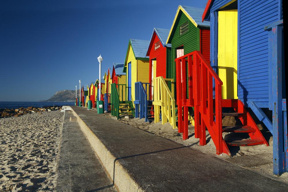 Beach Huts at St