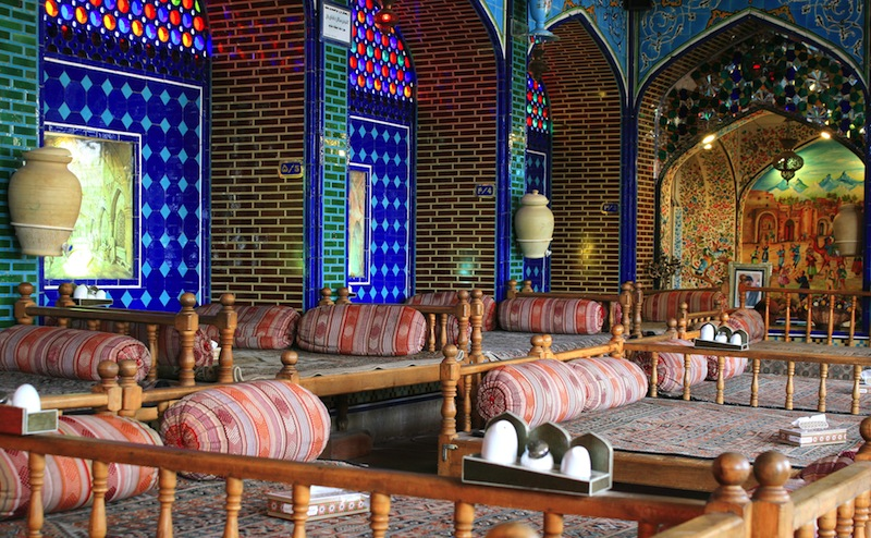 Beautiful Iranian national restaurant in Isfahan