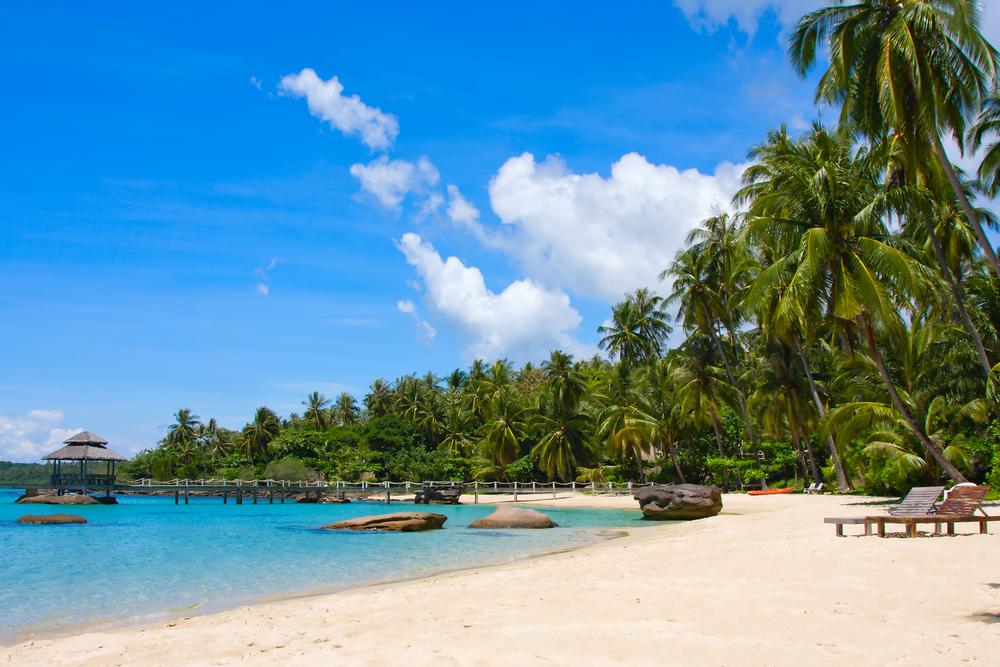 Beautiful tropical beach in island Koh Kood Thailand 8