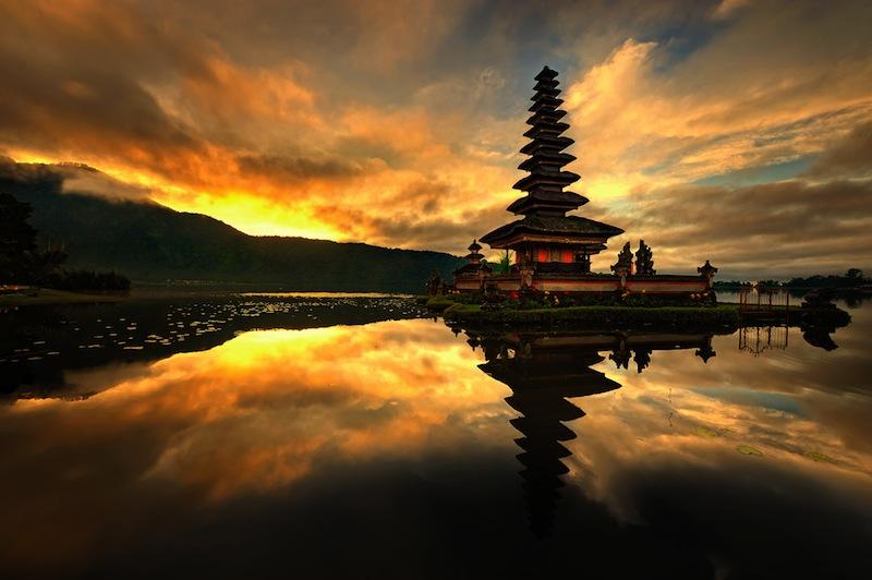 Bedugul is a mountain town in Bali