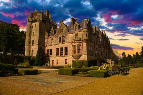 Belfast Castle in Northern Ireland irlanda