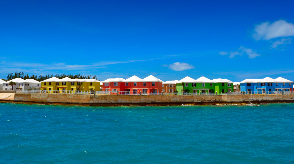 Bermuda Colorful Houses