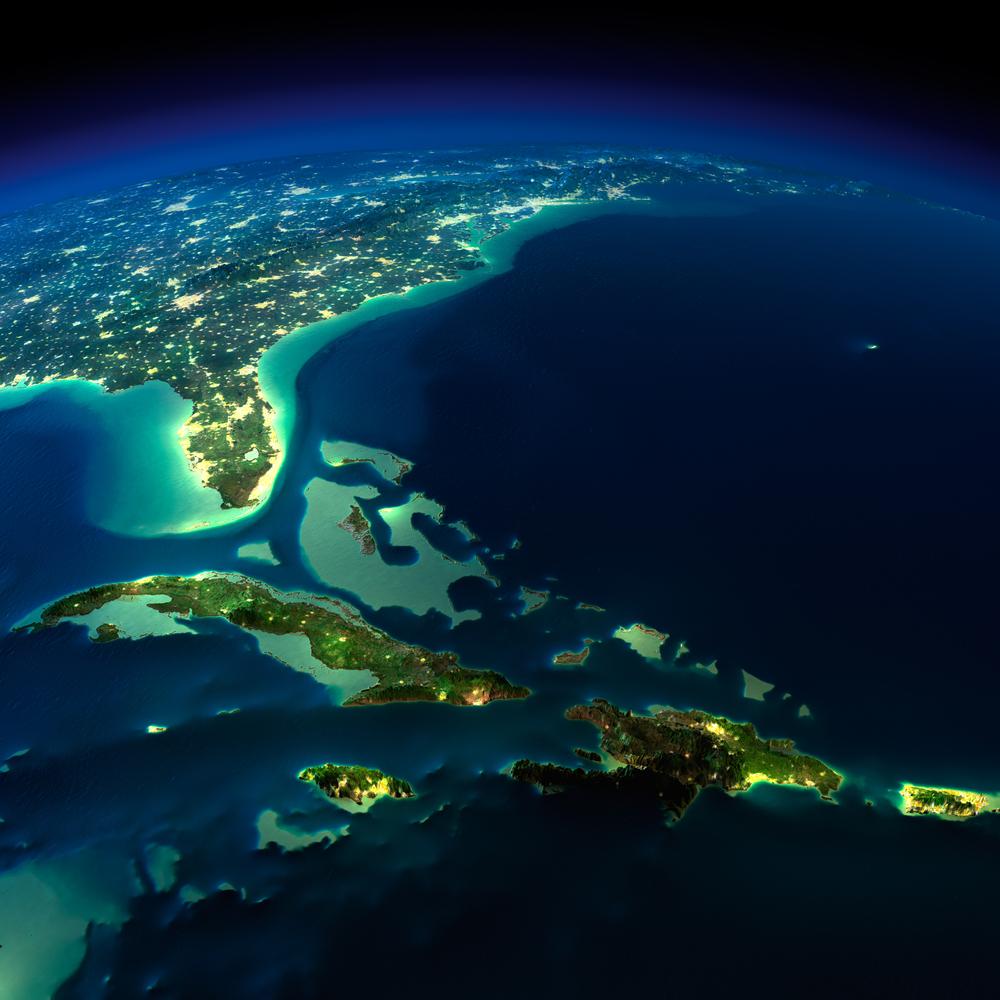 Bermuda Triangle area