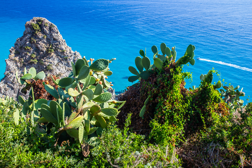 Best sea and beaches in Europe Capo Vaticano Calabria Italy