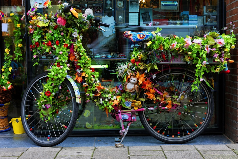 Bici verde Amsterdam