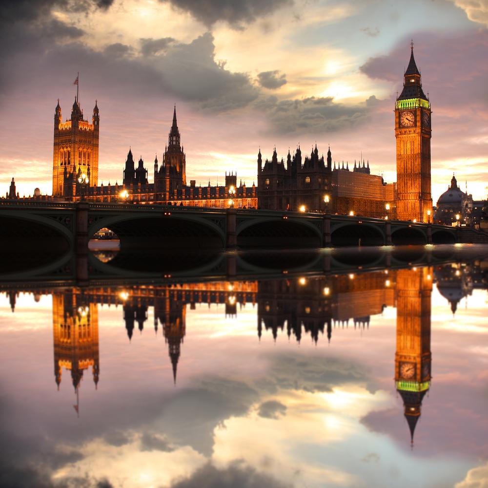 Big Ben in the evening London UK 0