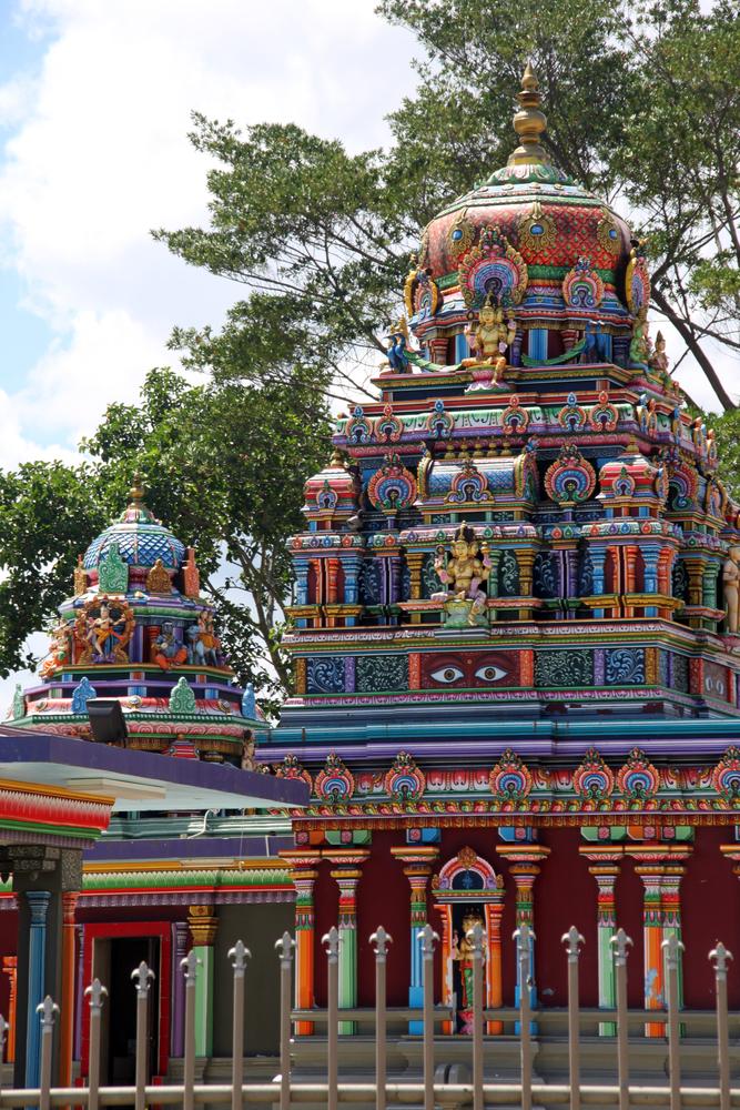 Big hindu temple in town Nadi Fiji