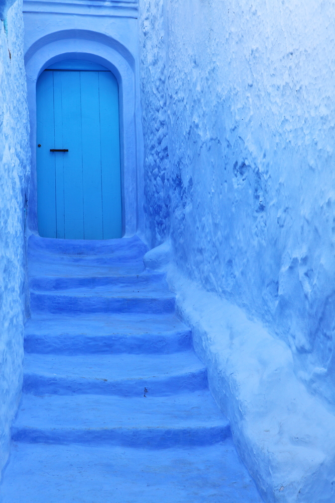 Blue medina 0of Chechaouen Morocco