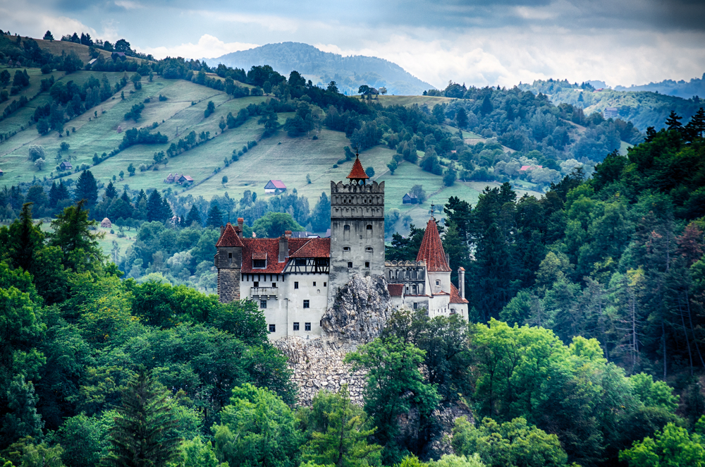 Bran Castle0 guarded in the past the border between Wallachia and Transylvania