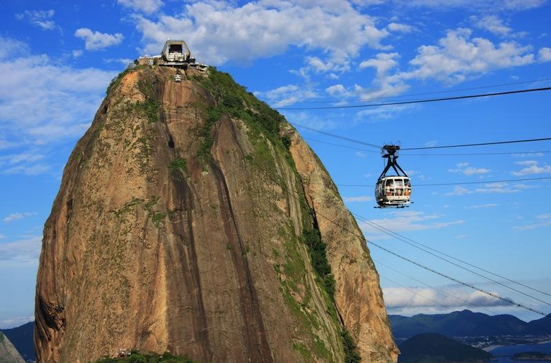 Brazil Rio de Janeiro Sugarloaf Mountain Pao de Acucar and