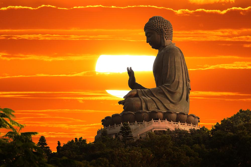 Buddha statue hongkong