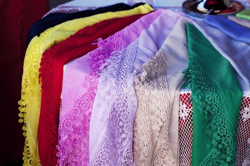 Burano lace scarf venice