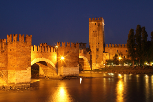 Castle Vecchio in Verona Italy