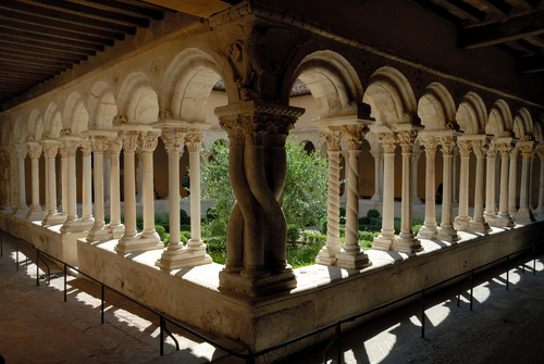 Cathedral Cloister in Aix en Provence southern France