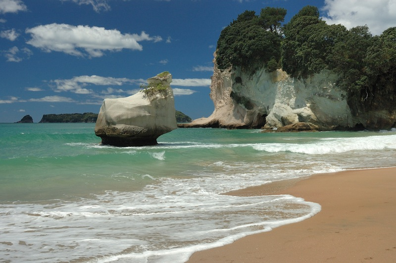 Cathedral Cove Beach Hahei New Zealand