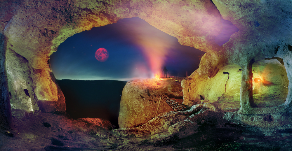 Cave city in Crimea Eski Kerman as Chufut Kale Tepe Kerman Mangup known in the whole world