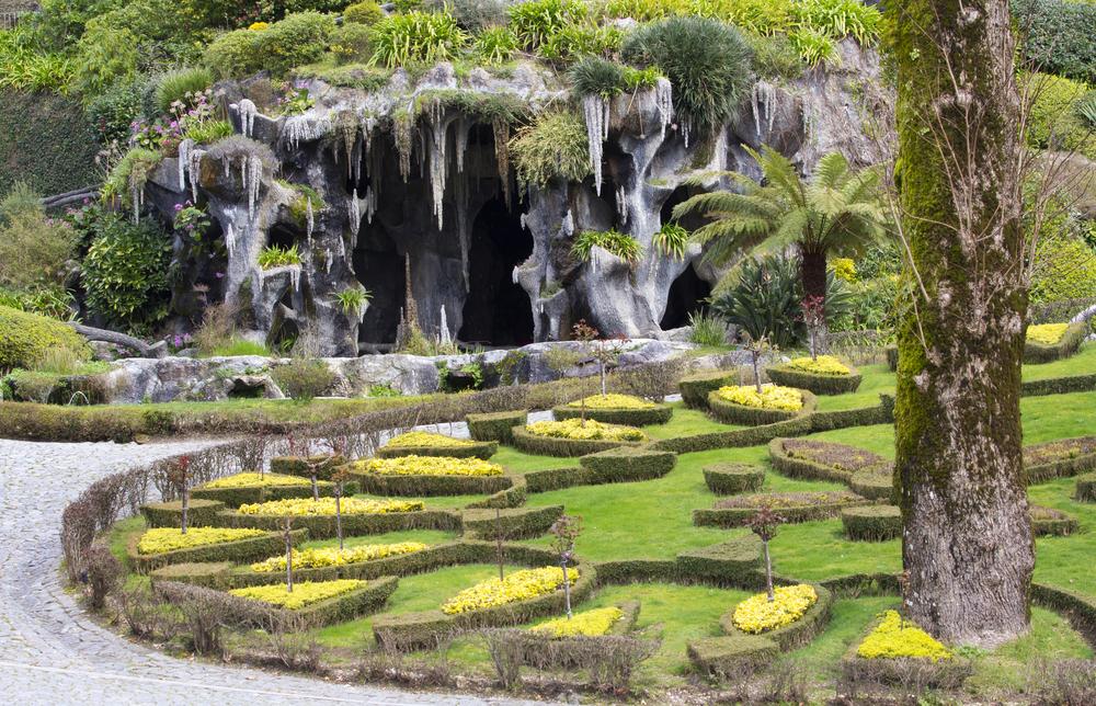 Cave in Bom Jesus do Monte Braga Portugal
