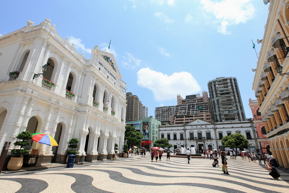 Centre of Macao