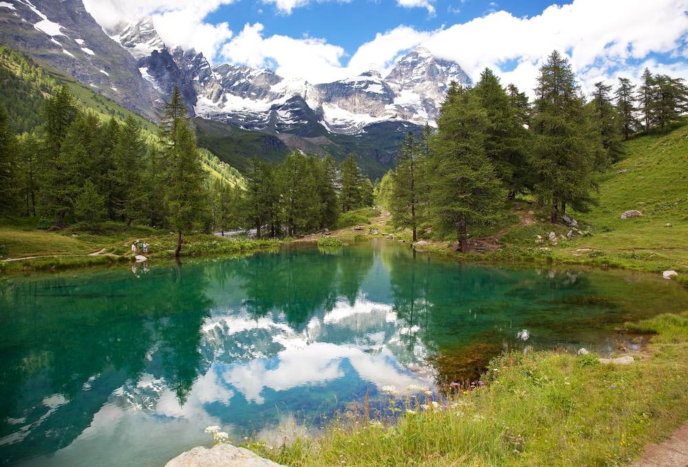 Cervinia Breuil Valle dAosta Italy
