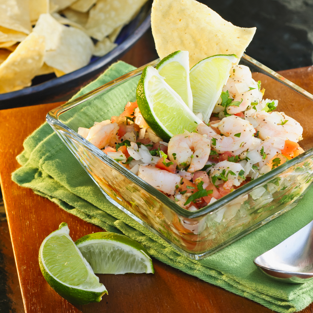 Ceviche and Chips