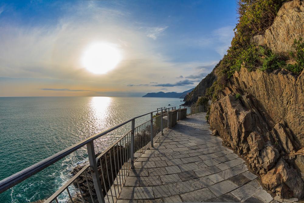 Cinque Terre road of love