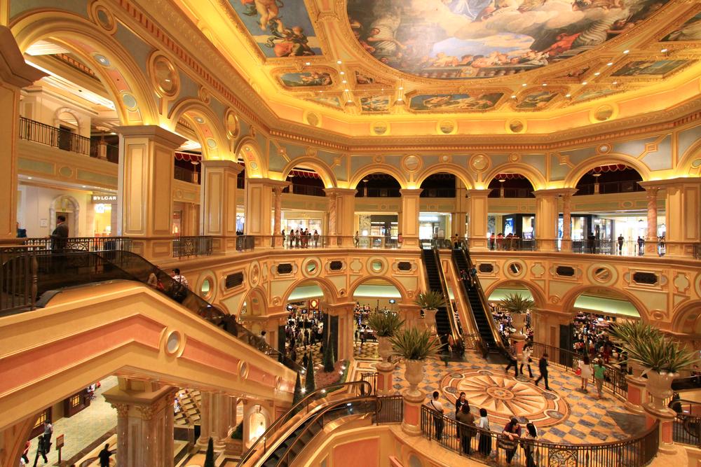 Cotai Strip Macau China April 16th 2013 The Venetian Hotel Macao