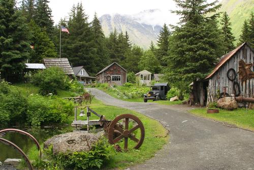 Cow Creek mining camp