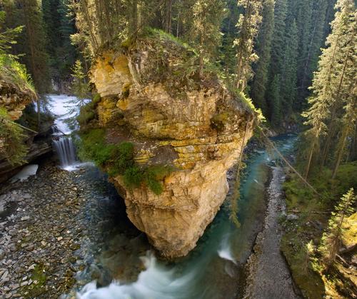 Creek in Johnston Canyon Banff Alberta Canada