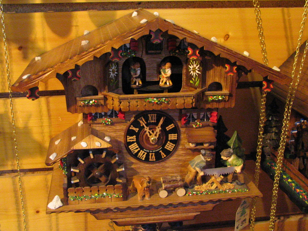 Cuckoo Clock From The Black Forest Germany