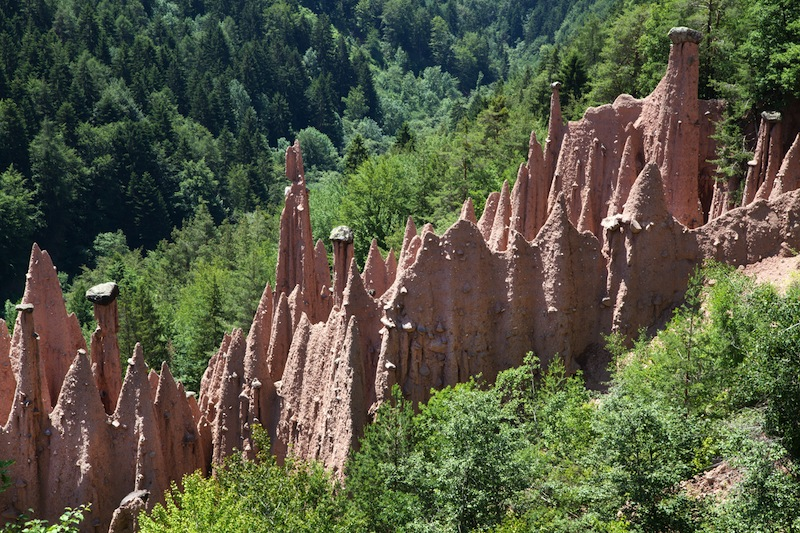 Earth Pyramids of Renon Italy South Tyrol