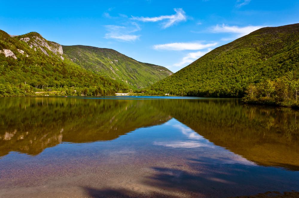 Echo lake Franconia New Hampshire