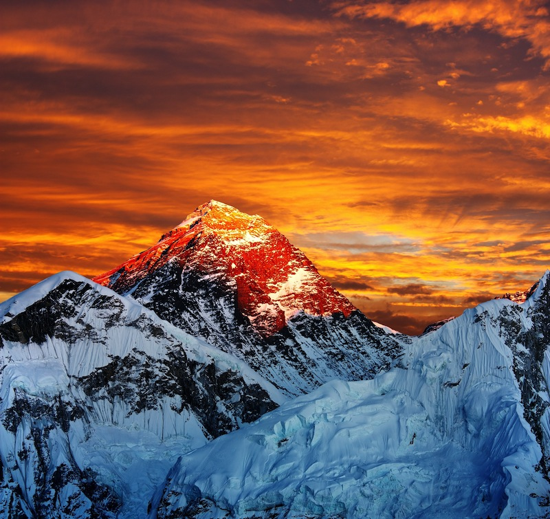 Everest from Kala Patthar Nepal