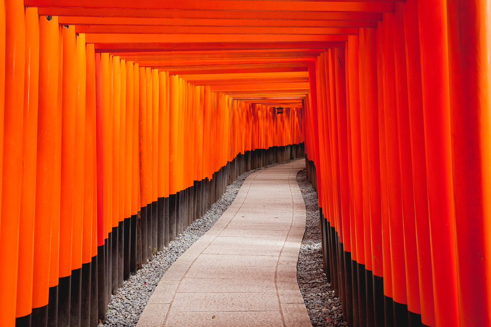 Fushimi Inari Taisha Shrine 8in Kyoto Japan