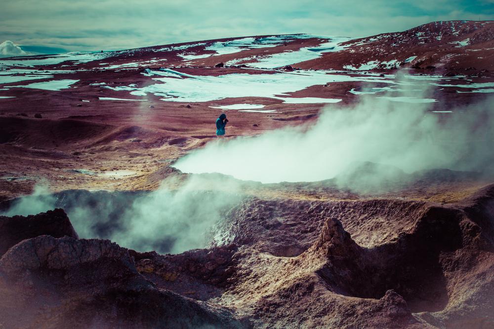 Geyser Sol de Manana Bolivia