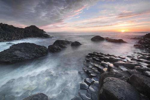 Giants Causeway landscape North Ireland irlanda