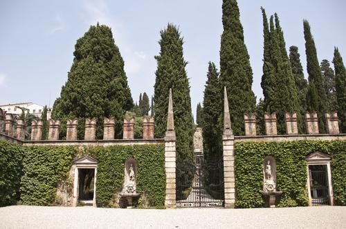 Giardino GiustiVeronaItaly