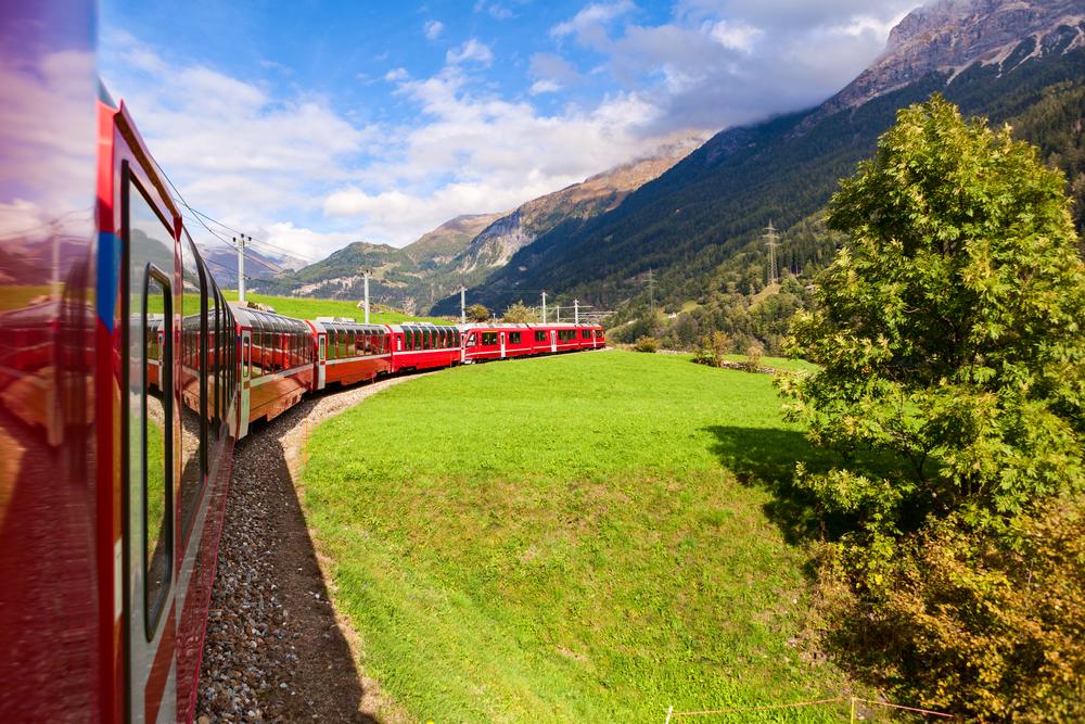 Glacier Express Switzerland UNESCO World Heritage Site