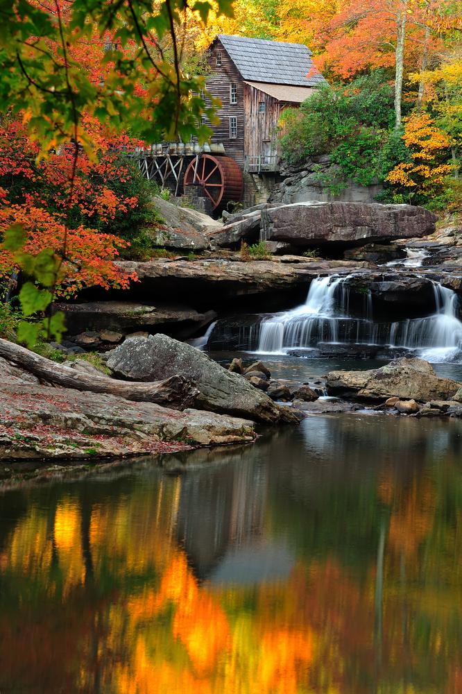 Glade Creek Grist Mill in West Virginia 501