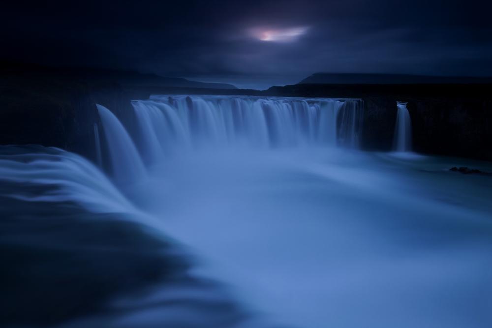 Godafoss Waterfall of the Gods Myvatn district Iceland Island