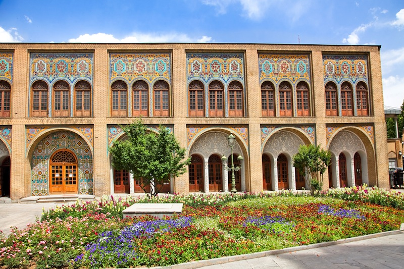 Golestan palace The oldest of the historic monuments in Tehran
