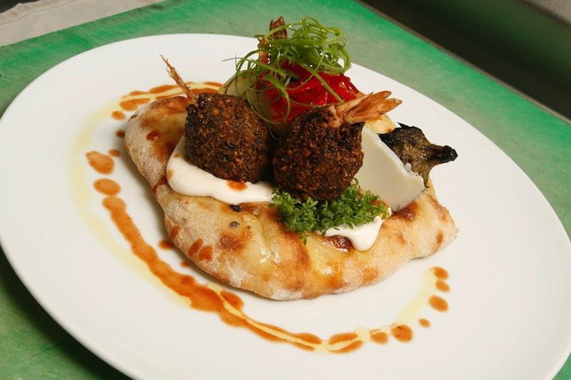 Gourmet falafel