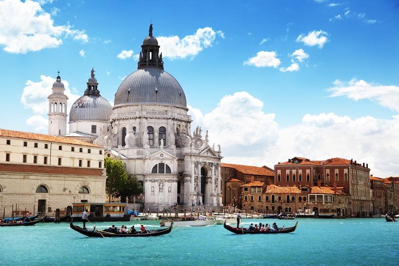 Grand Canal and Basilica Santa Maria della Salute Venicejpg
