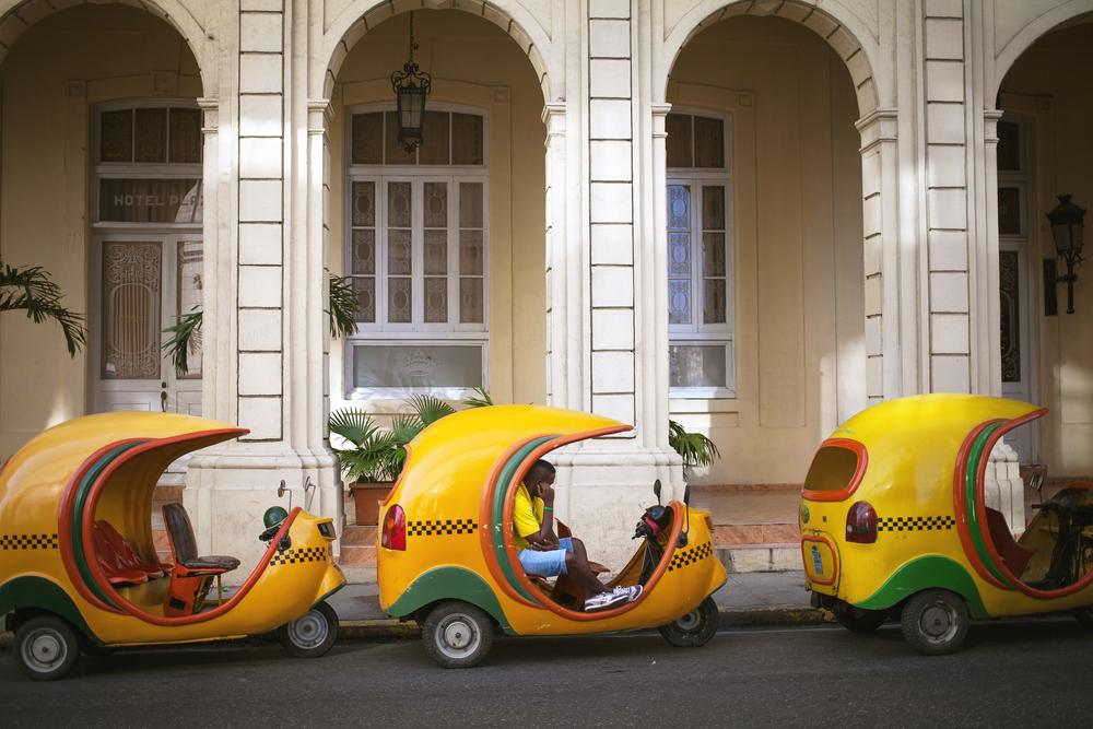 HAVANA CUBA JUNE 21 Vintage cars on the streets of Havana June 21 2013
