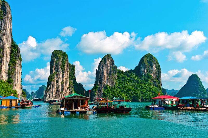 Halong Bay Vietnam Southeast Asia